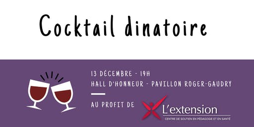 Cocktail dinatoire de l'AGÉÉÉ - 2019