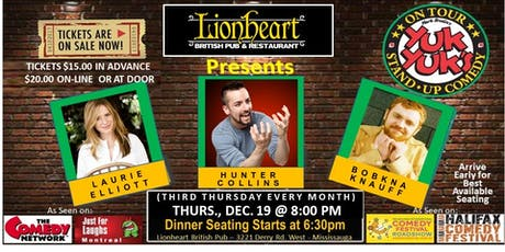 YUK YUK'S COMEDY TOUR AT LIONHEART tickets