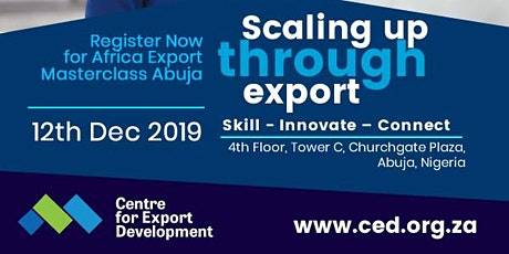 Africa Export Masterclass tickets