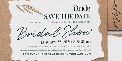New Orleans Bride's Bridal Show Winter 2020