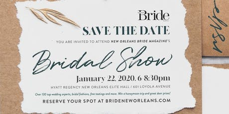 New Orleans Bride's Bridal Show Winter 2020 tickets