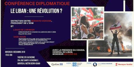 Le Liban : une révolution ? billets