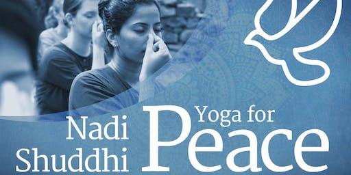 Yoga for Peace - Free Session in Copenhagen(Denmark)