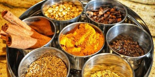 Vegan Indian Cooking Class Party (gluten-free)