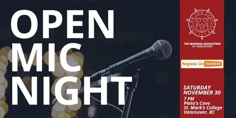 Open Mic Night! tickets