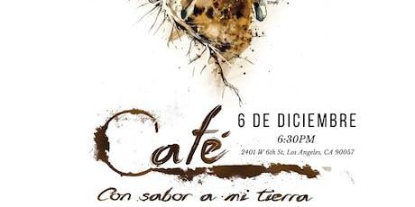 Café con Sabor a mi Tierra tickets