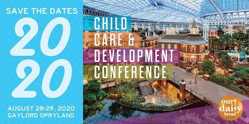2020 Child Care & Development Conference