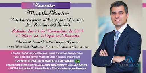 Meet the Doctor - Botox Party para Brasileiros