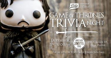 Game of Thrones Trivia Night