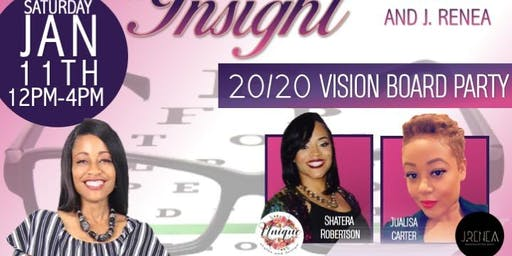 From Eyesight to Insight 20/20 Vision Board Brunch