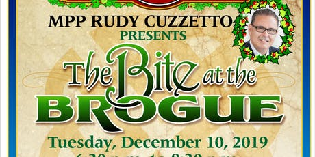 Bite At The Brogue With Rudy Cuzzetto tickets