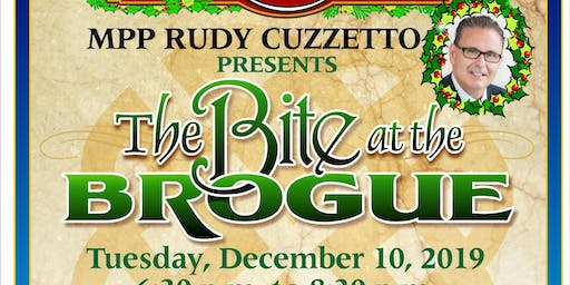 Bite At The Brogue With Rudy Cuzzetto