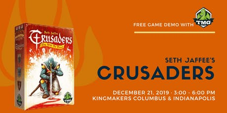 Free TMG Game Demo: Crusaders (INDIANAPOLIS) tickets