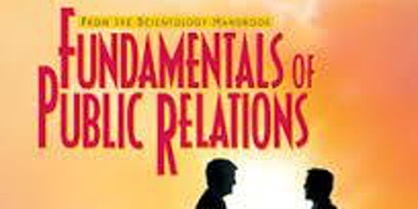 The Fundamentals of Public Relations Introductory lecture tickets