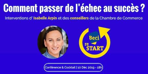 Comment passer de l'échec au succès ? Soirée ReStart avec Isabelle Arpin