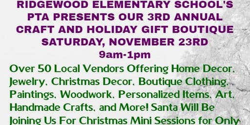 Craft and Holiday Gift Boutique