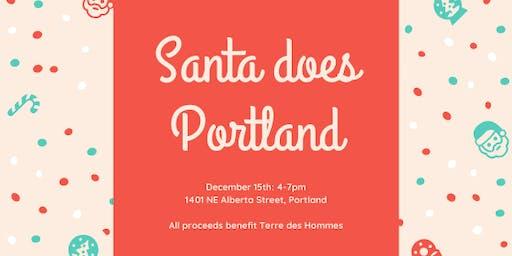 Santa does Portland: A Benefit for Terre des Hommes