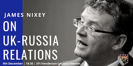 James Nixey: On UK-Russia Relations tickets