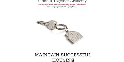 Maintain Successful Housing