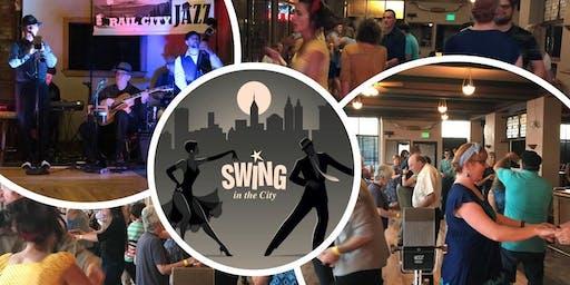 Swing Dance with Rail City Jazz