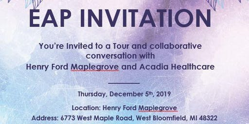 EAP Collaborative Discussion and Tour