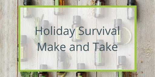 Holiday Survival Rollerbottle make and take