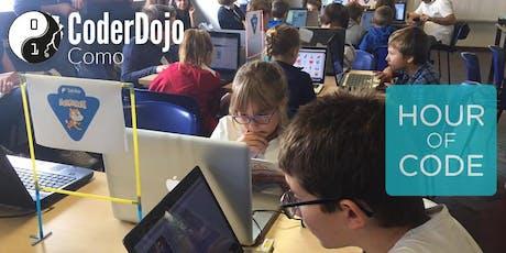 Coding Lab in Como for Hour Of Code biglietti