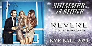 Shimmer & Shine NYE Ball at The Revere Hotel