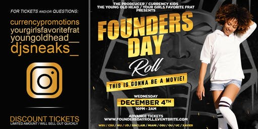 Founders Day Roll