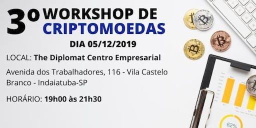3º WORKSHOP DE CRIPTOMOEDAS