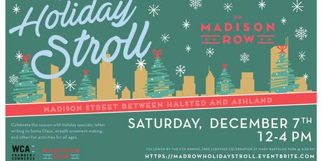 Madison Row Holiday Stroll tickets