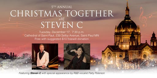 Christmas Together with Steven C and special guest Patty Peterson