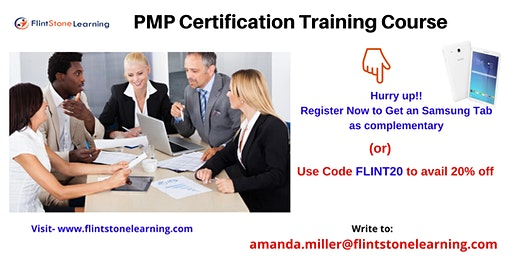 PMP Training workshop in Angels Camp, CA