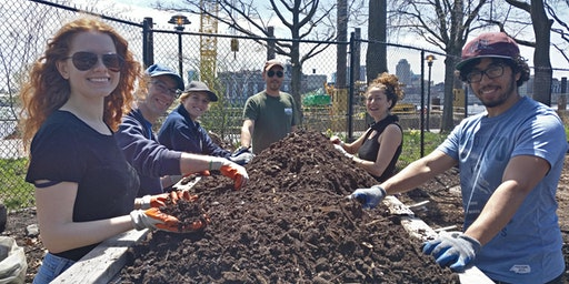 Lend a Hand at East River Park Compost Yard