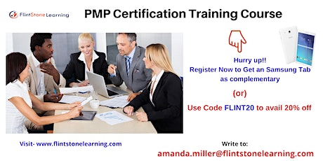 PMP Training workshop in Applegate, CA tickets