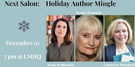 Literary Salon - Terese Svoboda, Huda Al-Marashi, Catherine Woodard tickets