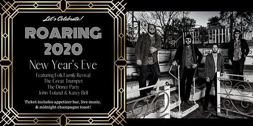 Roaring Twenties New Years Eve Featuring Folk Family Revival
