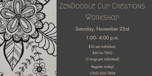 ZenDoodle Cup Creations Workshop