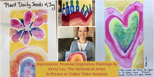Impressions - Personal Insight Paintings by Kerry Lee Special Event