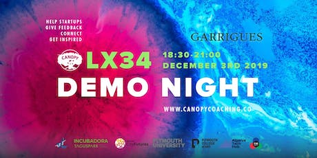 #DemoNightLx34 Celebrations with Garrigues bilhetes