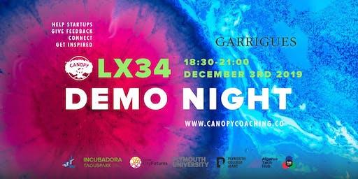 #DemoNightLx34 Celebrations with Garrigues