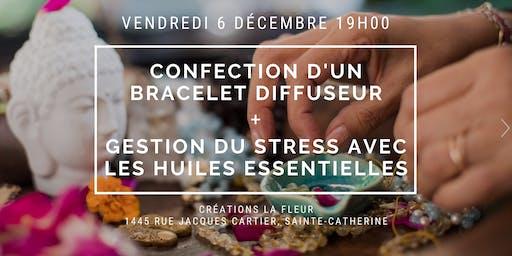 Gestion du stress: confection d'un mala + utilisation d'huiles essentielles