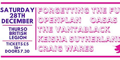 LIVE MUSIC // FTF, OpenPlan, Vantablack, Oasas, Keisha S & Craig Wares tickets