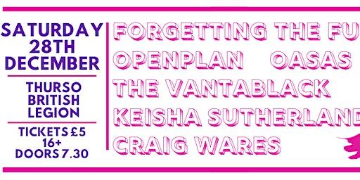 LIVE MUSIC // FTF, OpenPlan, Vantablack, Oasas, Keisha S & Craig Wares