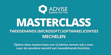 """Masterclass  """" Tweedehands Softwarelicenties"""" tickets"""