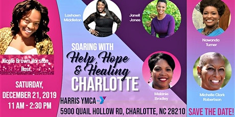 SOARING with Help, Hope, and Healing Charlotte tickets