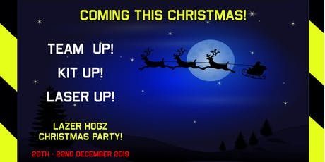 Lazer Hogz Outdoor Laser Tag - Christmas Holidays tickets