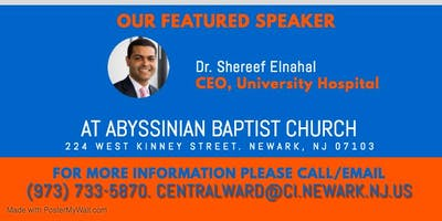 Central Ward Community Conversation with Dr. Shereef Elnahal