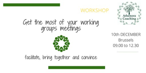 Get the most of your working groups meetings