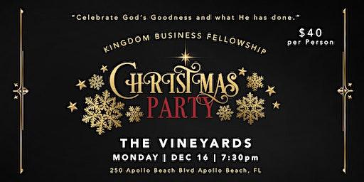 Kingdom Business Fellowship Christmas Party 2019